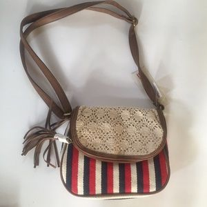 ☀️NWT American Eagle Outfitters Fold Top Crossbody
